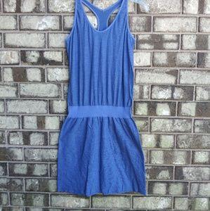 athleta bluevactive dress size small